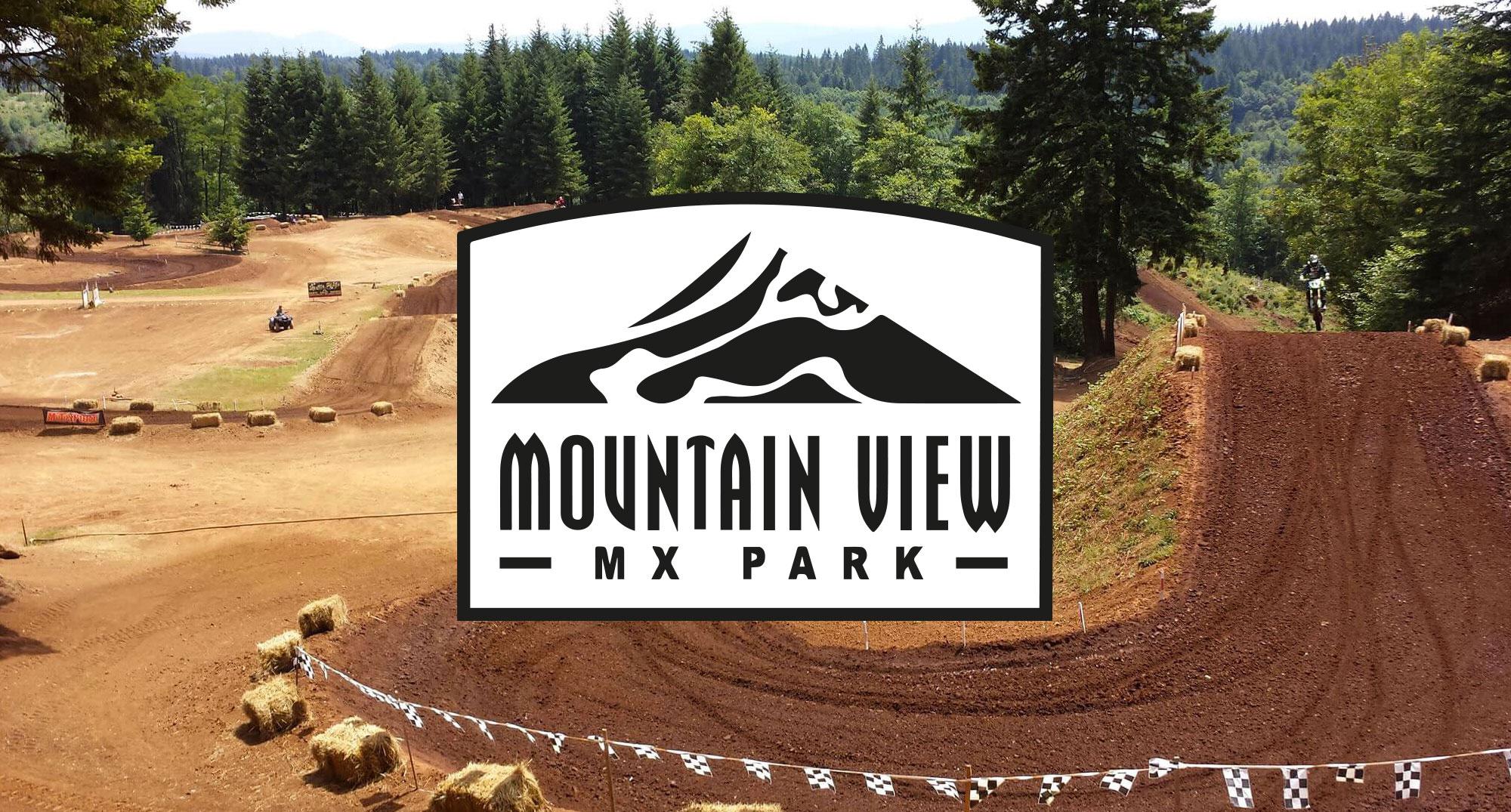 Natural Terrain Mx Track In Oregon Mountain View Mx Park